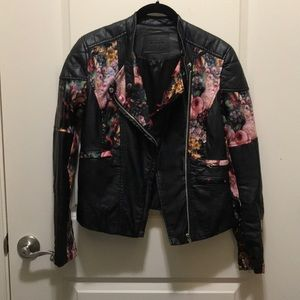 Blank NYC Floral Moro Jacket